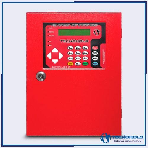 Central de alarme de incêndio endereçável ip20 slim
